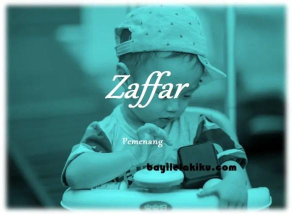 arti nama Zaffar
