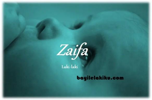 arti nama Zaifa