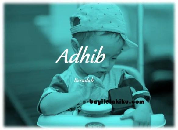 arti nama Adhib