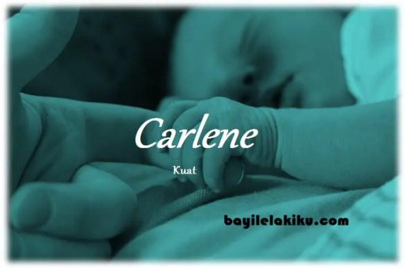 arti nama Carlene