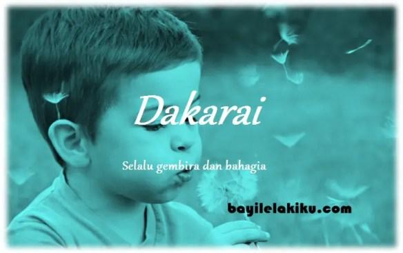 arti nama Dakarai