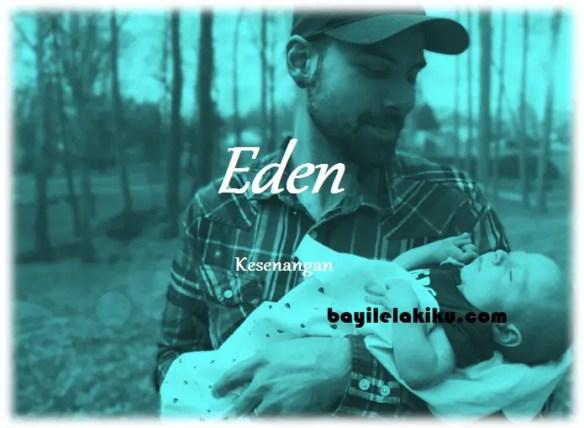 arti nama Eden