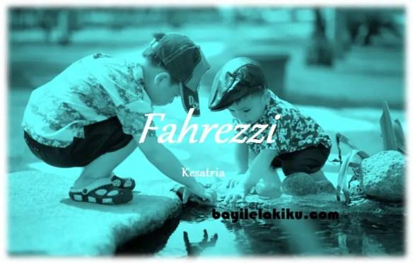 arti nama Fahrezzi