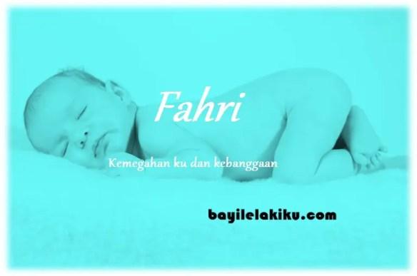 arti nama Fahri