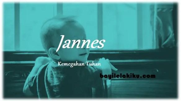 arti nama Jannes