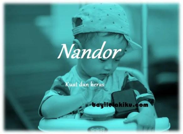 arti nama Nandor