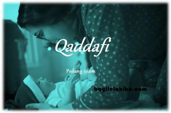 arti nama Qaddafi