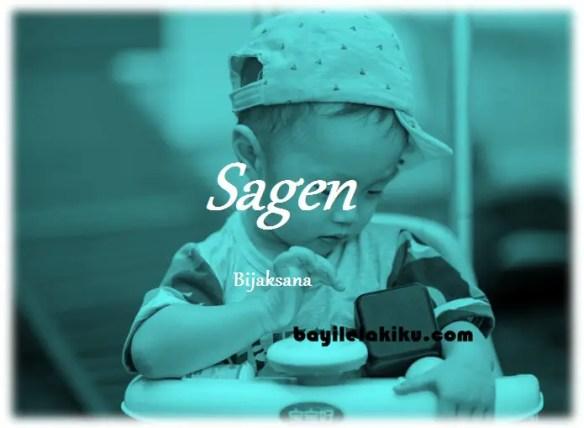 arti nama Sagen