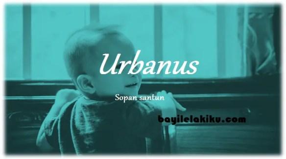 arti nama Urbanus