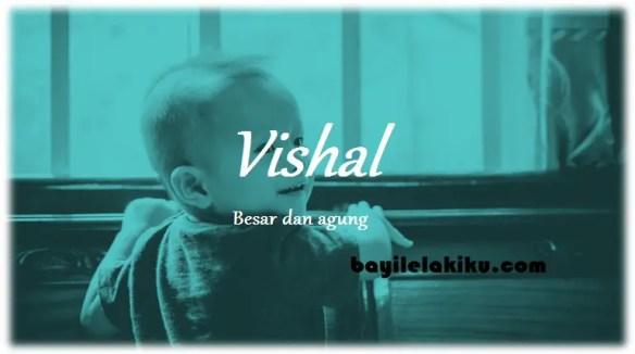 arti nama Vishal