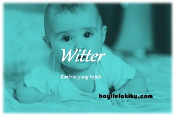 arti nama Witter