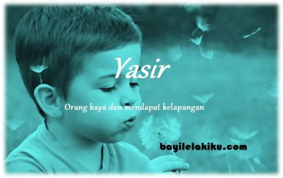 arti nama Yasir