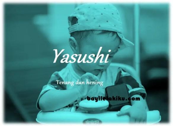 arti nama Yasushi