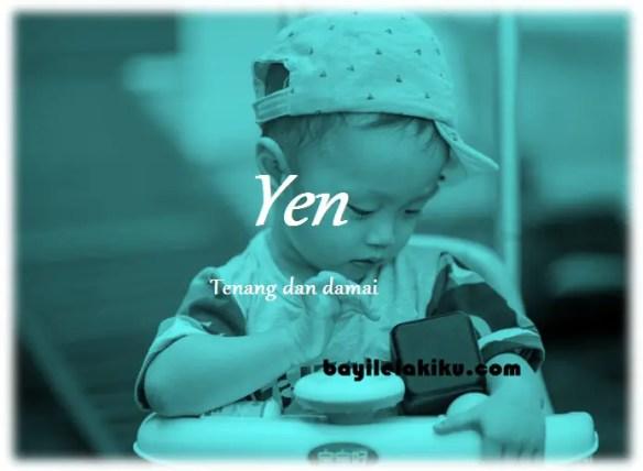 arti nama Yen
