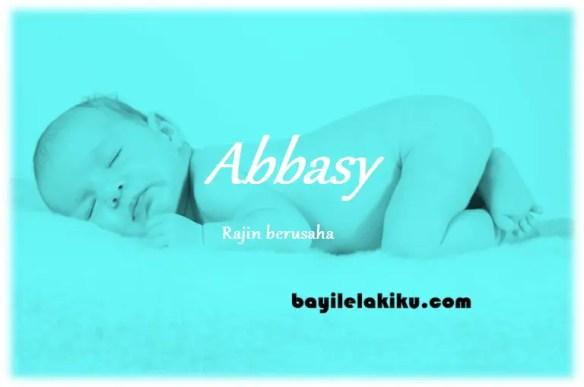 arti nama Abbasy