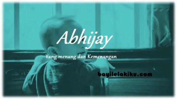 arti nama Abhijay