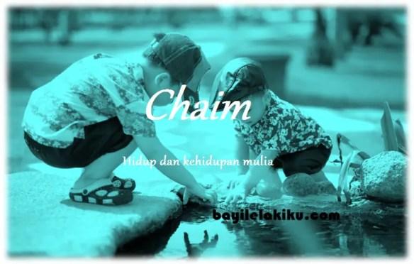 arti nama Chaim