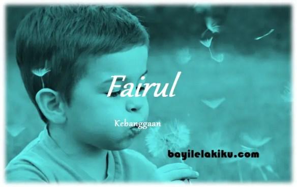 arti nama Fairul