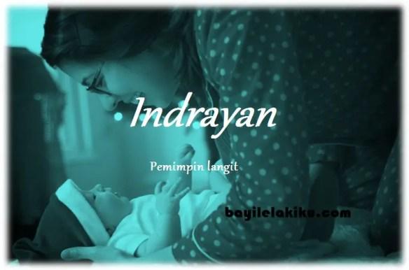 arti nama Indrayan
