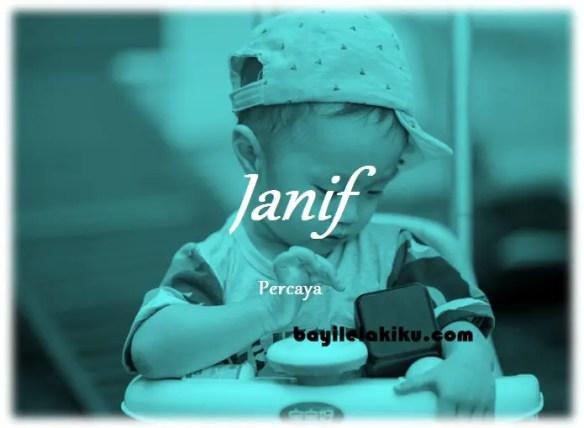 arti nama Janif