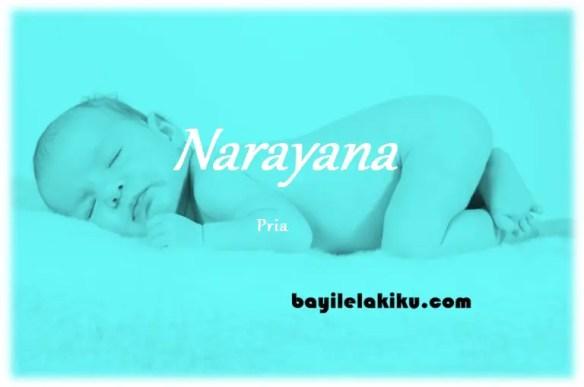 arti nama Narayana