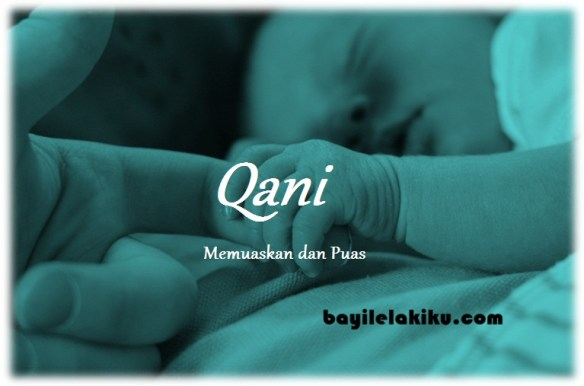arti nama Qani