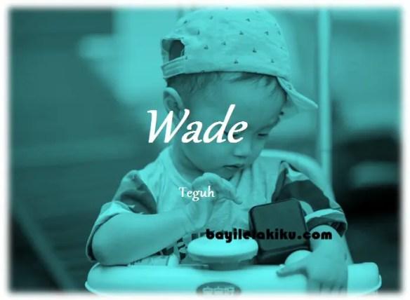 arti nama Wade