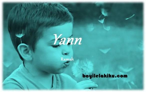arti nama Yann