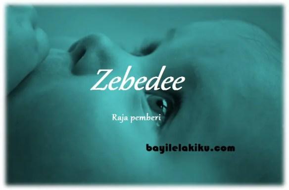 arti nama Zebedee