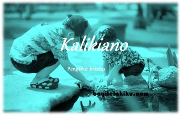arti nama Kalikiano