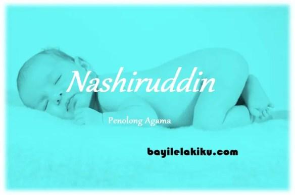 arti nama Nashiruddin