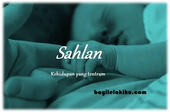 arti nama Sahlan