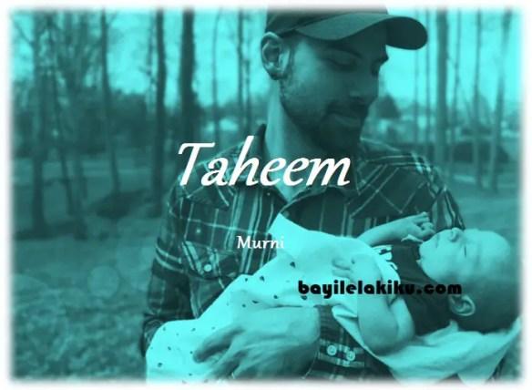 arti nama Taheem