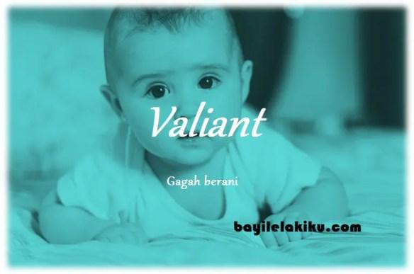arti nama Valiant