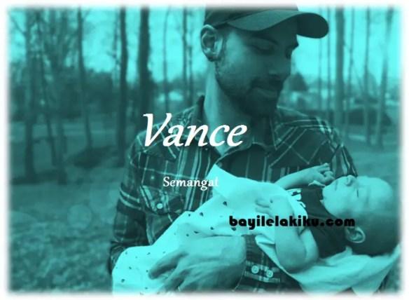 arti nama Vance