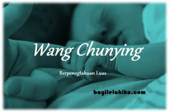 arti nama Wang Chunying