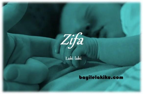 arti nama Zifa