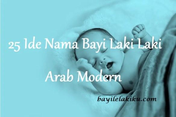 Nama Bayi Laki Laki Arab Modern