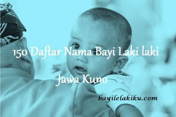 Nama Bayi Laki laki Jawa Kuno