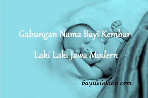 Nama Bayi Kembar Laki Laki Jawa Modern