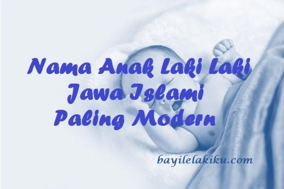 Nama Anak Laki Laki Jawa Islami
