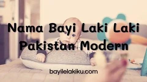 Nama Bayi Laki Laki Pakistan Modern