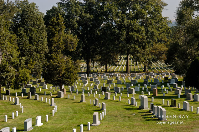 Arlington National Cemetery. Arlington, Virginia, USA.