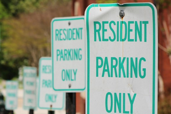 Prince George's County Tenant Parking Signs