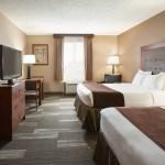 Two Queen Beds Standard Room Baymont By Wyndham Mandan Bismarck Area