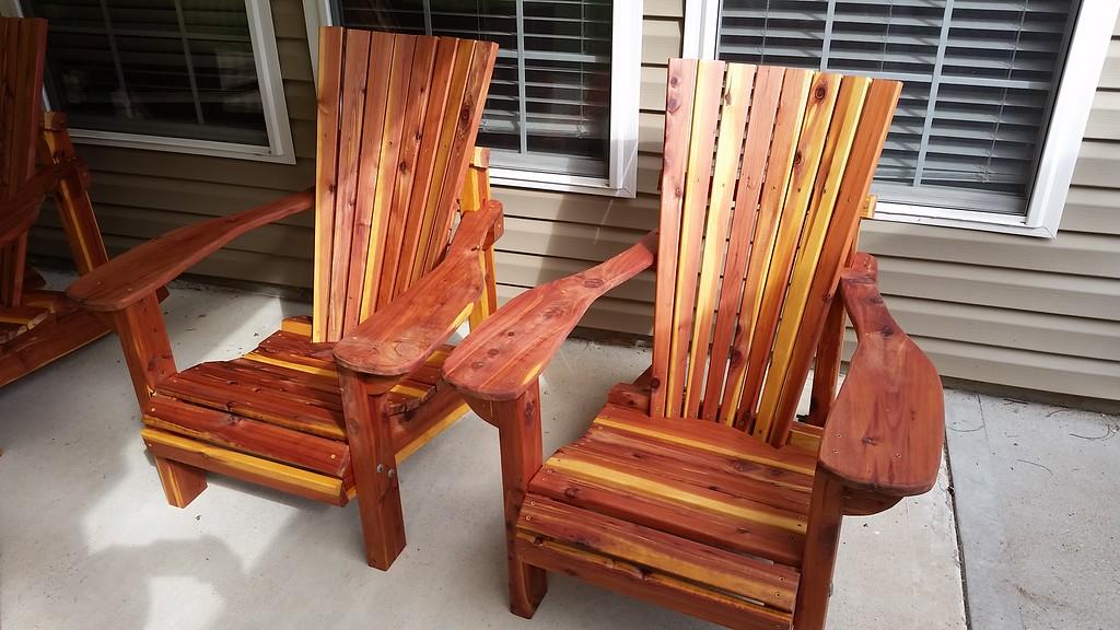 Red Cedar Adirondack Chairs