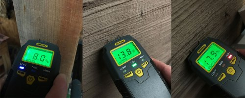 How to use a moisture meter