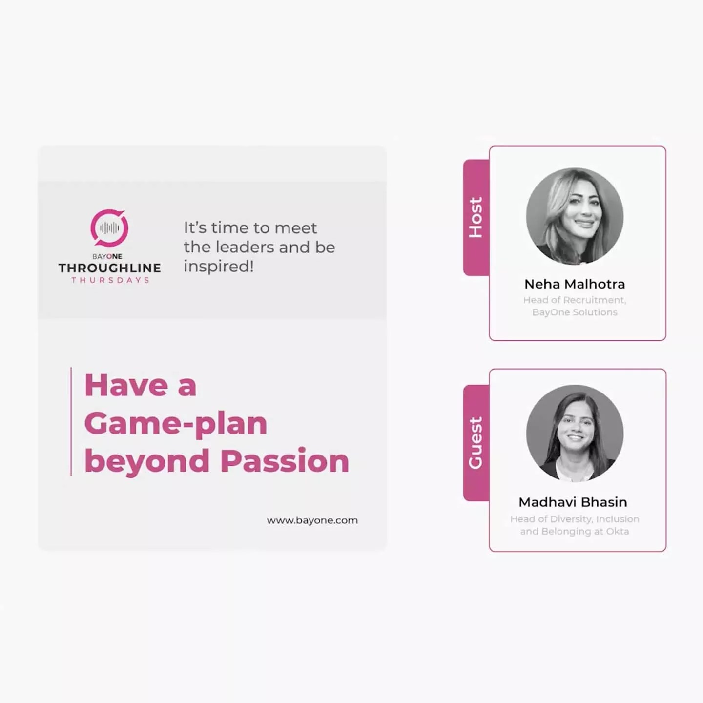Have a Game-plan Beyond Passion