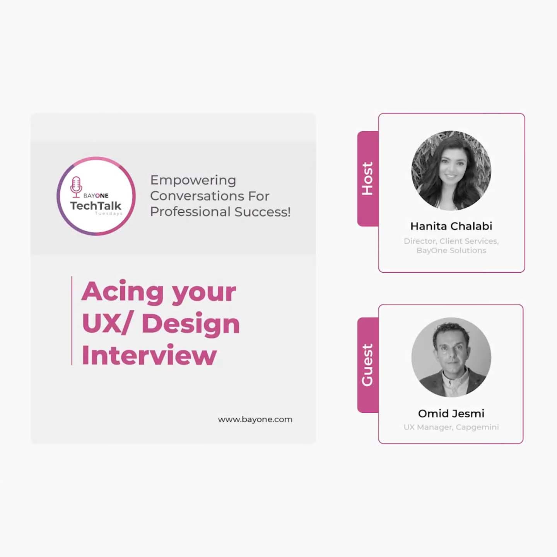 Acing your UX Design Interview