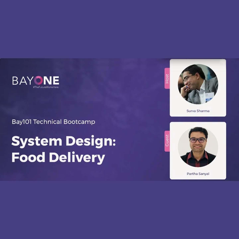 System Design: Food Delivery